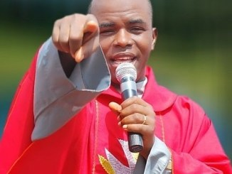 Rev. Father Mbaka has released his priestly annointing to cease coronavirus