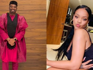 """Don Jazzy rejoices as Rihanna dances to Rema's hit song """"Dumebi"""" (video)"""