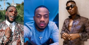 Koredo Bello reacts after Burna Boy savagely turned Reekado Banks down for a music challenge