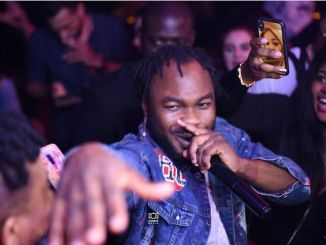 Slimcase shares video of a n*de lady twerking to his song (watch)