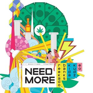 Reekado Banks ft Kida Kudz, EO - Need More