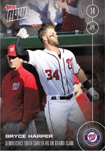 Updated Bryce Harper 100th Hr History Made In Grand