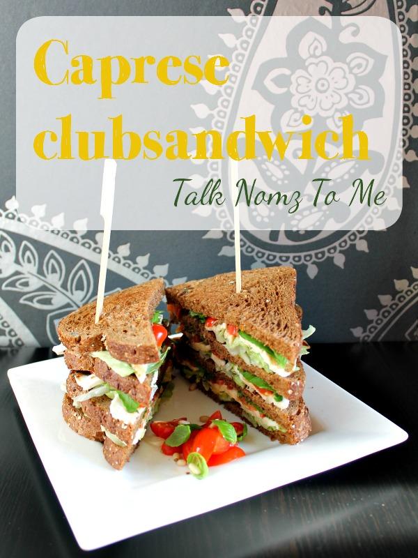 Caprese Clubsandwich