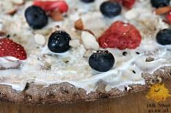 Ontbijt Pizza met Yoghurt
