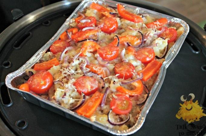 Aardappelschotel van de SAfire
