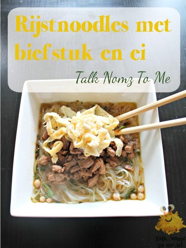 Rijst noodles | TalkNomzToMe.nl