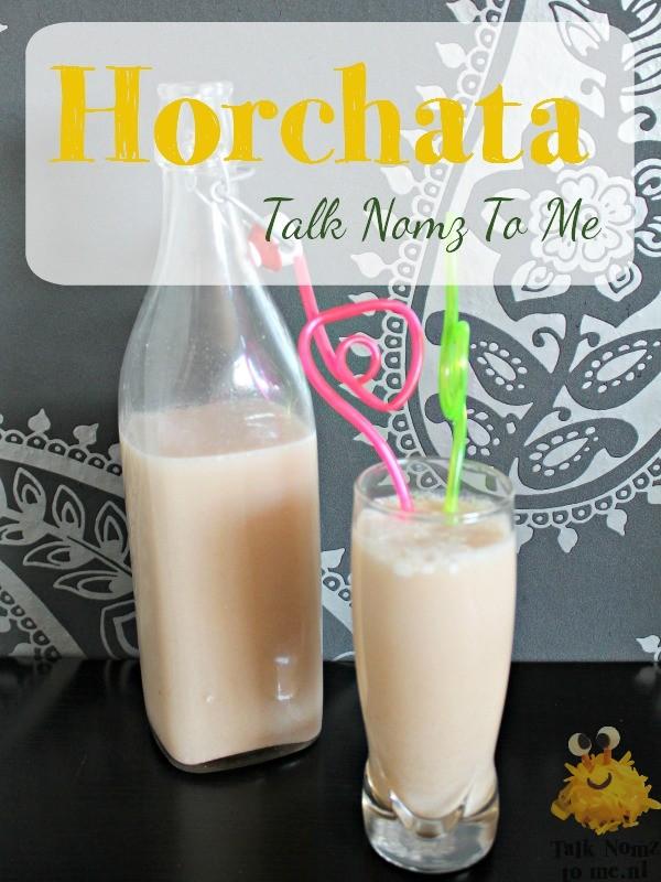 Horchata | TalkNomzToMe.nl