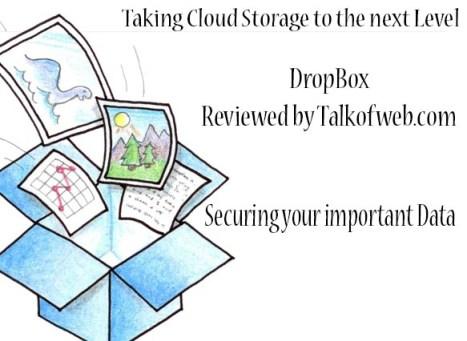 Drop Box - Best Cloud Storage Service