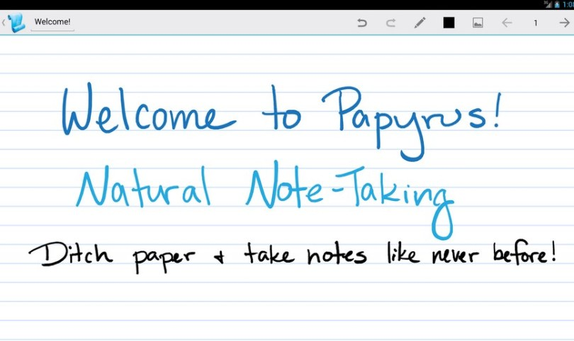 Take notes with this Android Application