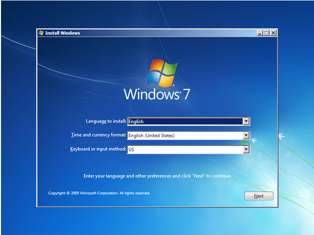 how to install windows 7 - 3