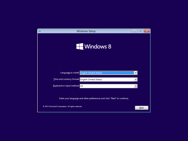 how to install windows 8 - 2