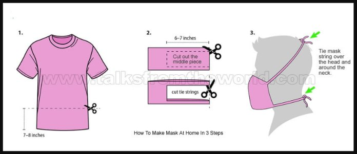 How To Make Mask At Home Without Sewing Machine