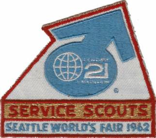 1962 Worlds Fair Service Scouts