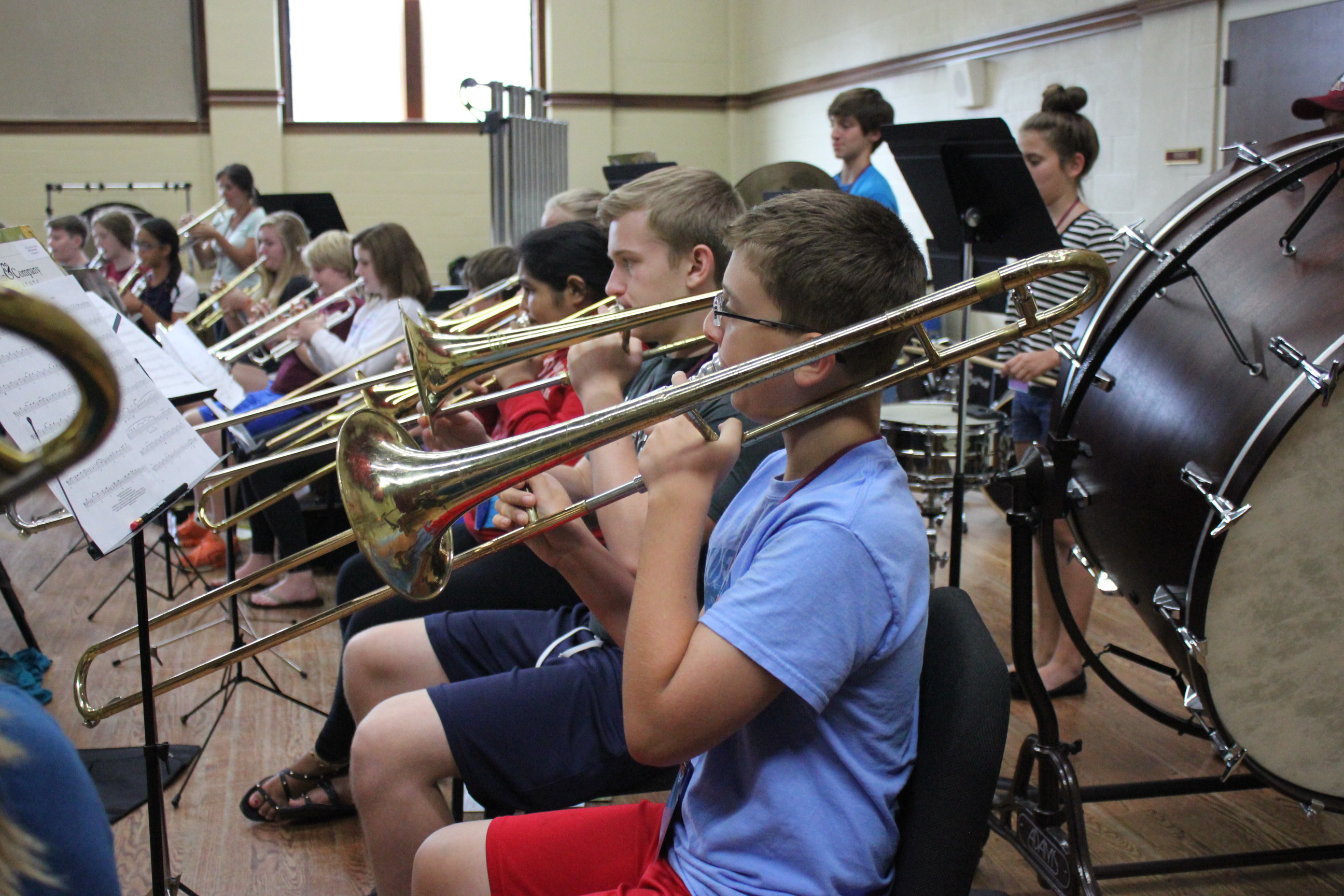 Band Camp For Middle School Presented By Fsu Summer Music