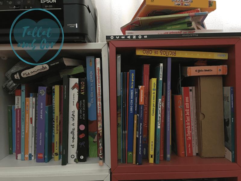 Parte de la colección de cuentos de los pequeños de la casa