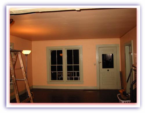 before the livingroom remodel