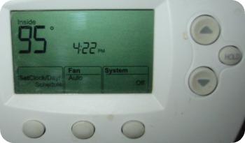 thermostat Seattle heatwave