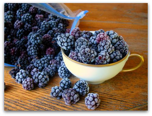 frozen blackberries by the cup