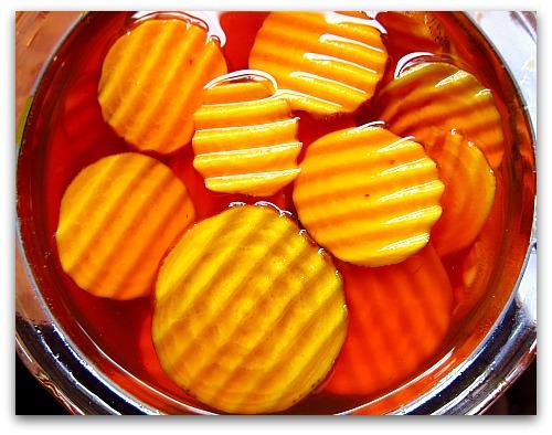 pickled beets krinkle cut
