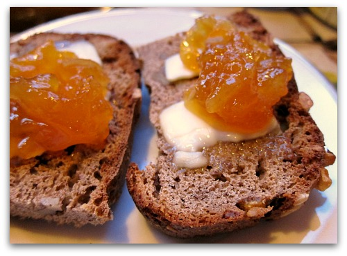 lemon-pineapple marmalade on toast