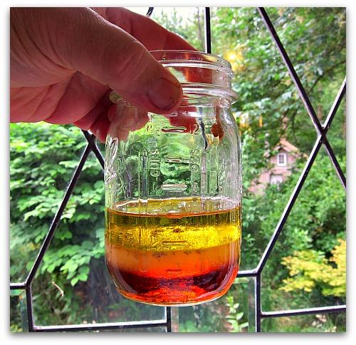 olive oil vinegar maple syrup vinaigrette