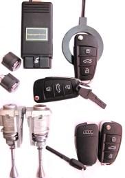 llaves y mandos a distancia.