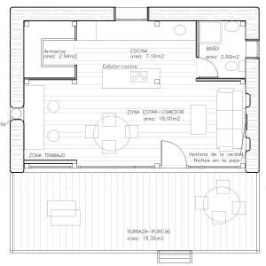plano de casa de paja, autoconstruccion con paja, bioconstruccion