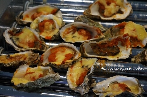 Baked Oyster with Sambal