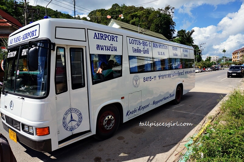 Cheapest Way from Krabi Airport to Ao Nang