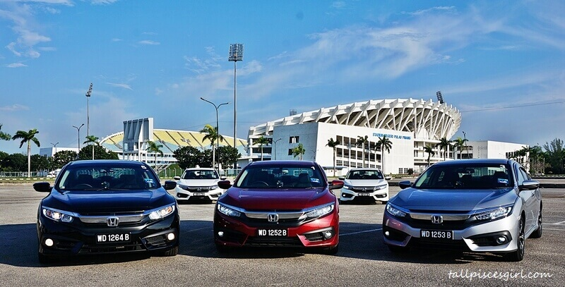 Our Honda Civic fleet. Which is your favorite?