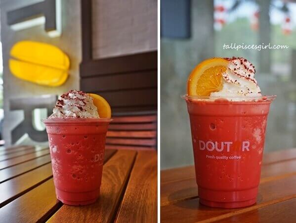 Doutor Chinese New Year Drink - Frozen Red Velvet