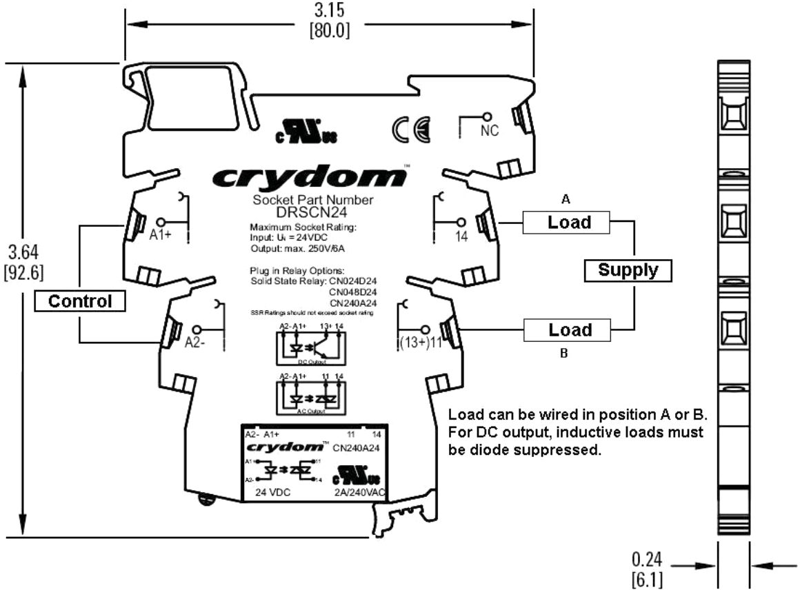 crydom ssr wiring diagram list of wiring diagrams Crydom SCR Circuit Board