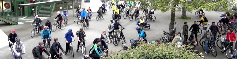 126 Teilnehmer bei Wuppertaler Critical Mass