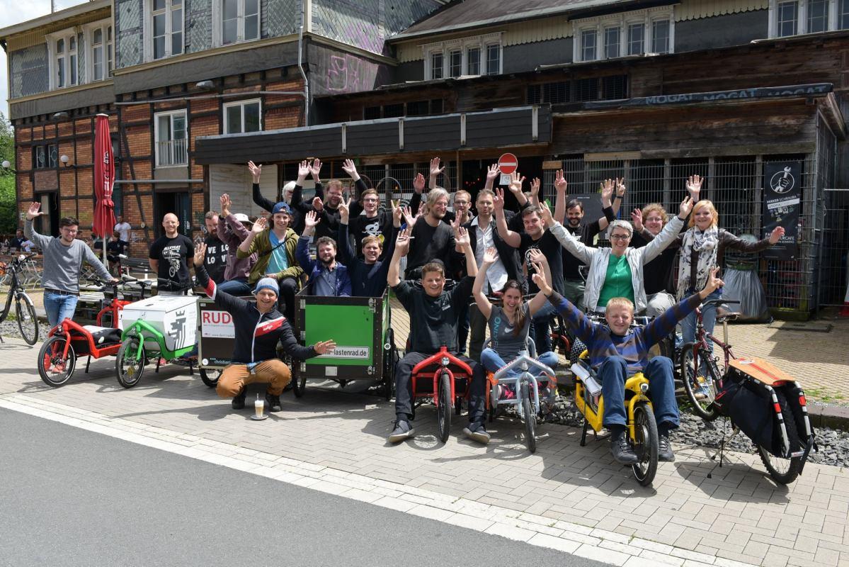 """""""Freie Lastenrädern"""" gewinnen Deutschen Fahrradpreis"""