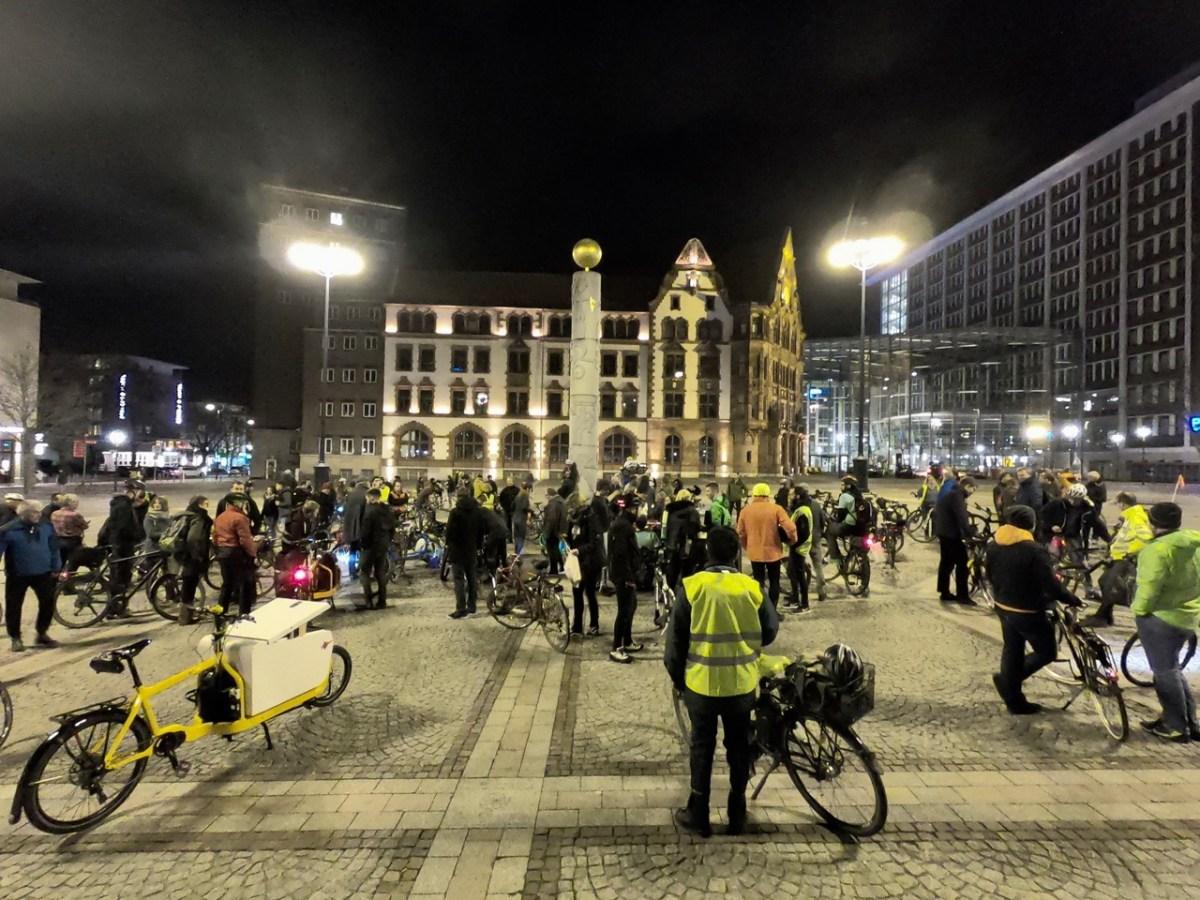 Ausflug zur Critical Mass Dortmund