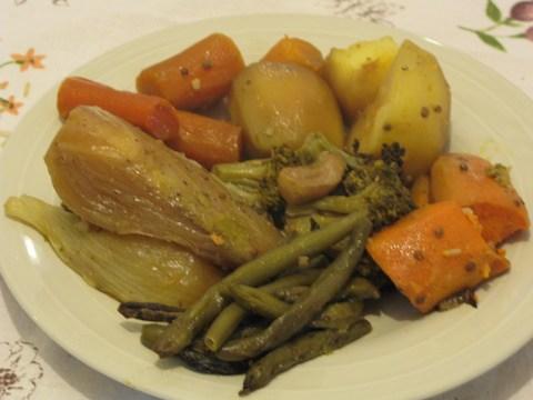 קדירת ירקות מהירה