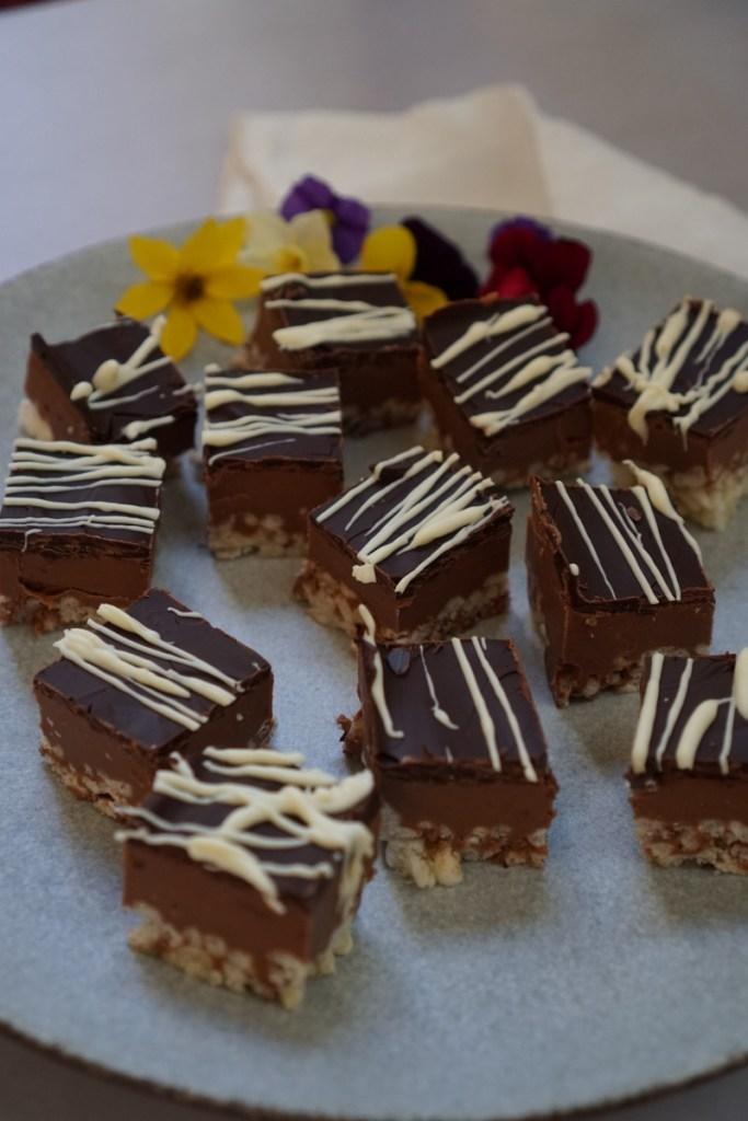 חטפי חמאת בוטנים ושוקולד