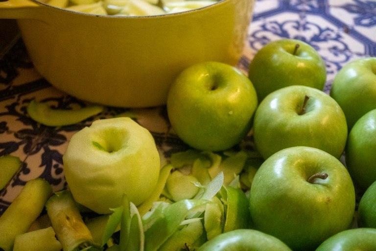 הכנת רסק תפוחים ביתי