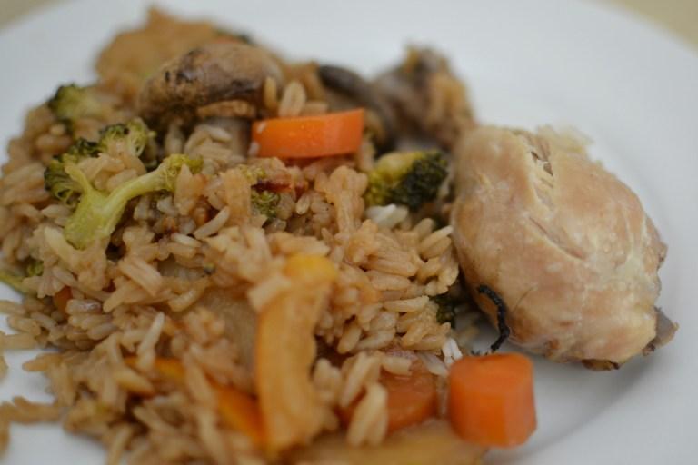 תבשיל עוף עם אורז שילדים מתים עליו