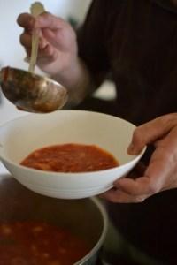 מרק עגבניות פאפא אל פומודורו