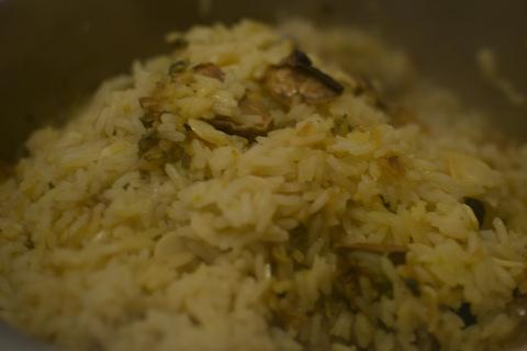 אורז עם תערובת תבלינים