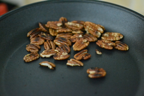 קולים את אגוזי הפקאן