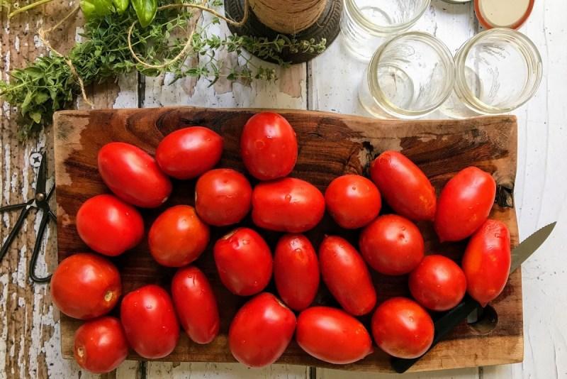 רוטב עגבניות ביתי