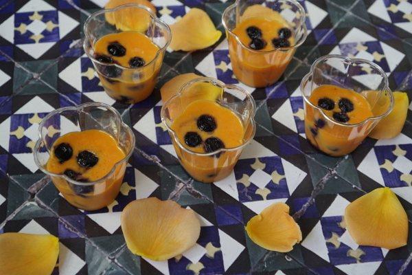קארד תפוז ושוקולד