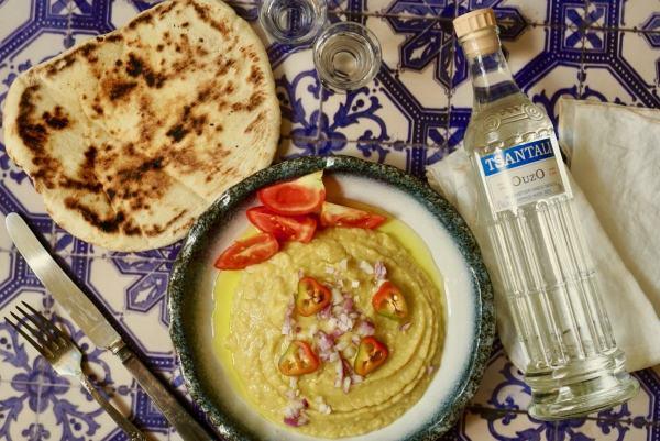 פאבה - ממרח אפונה צהובה יווני