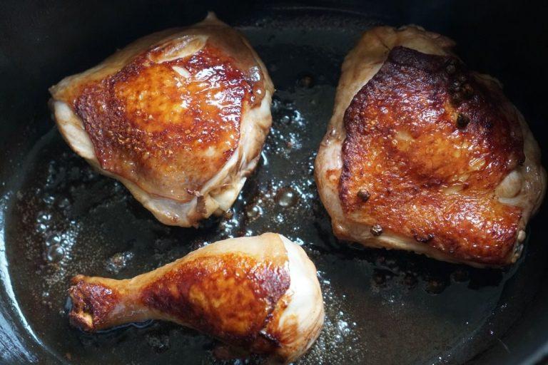 הכנת אדובו עוף
