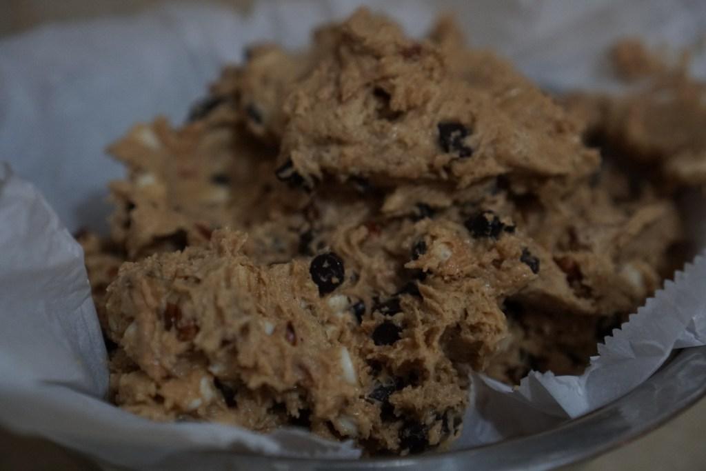 תערובת להכנת הכנת עוגיות שוקולד צ'יפס עם פקאן