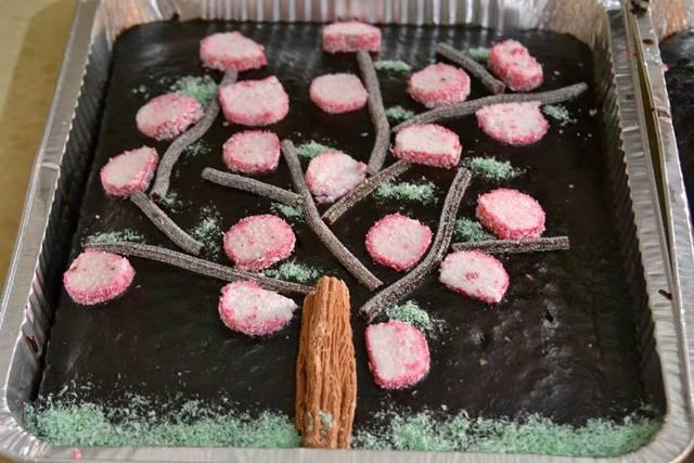 עוגת שקדיה