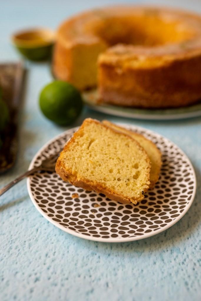 עוגת שמן זית וליים