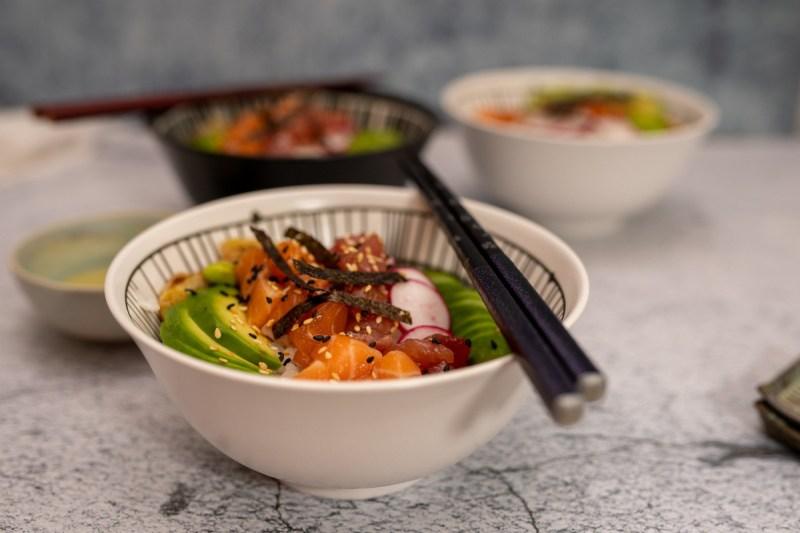 צ'יראשי יפני מושלם בכלום עבודה כמו במסעדה